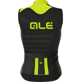 Alé Cycling R-EV1 Piuma Sleeveless Jersey Men black-fluo yellow